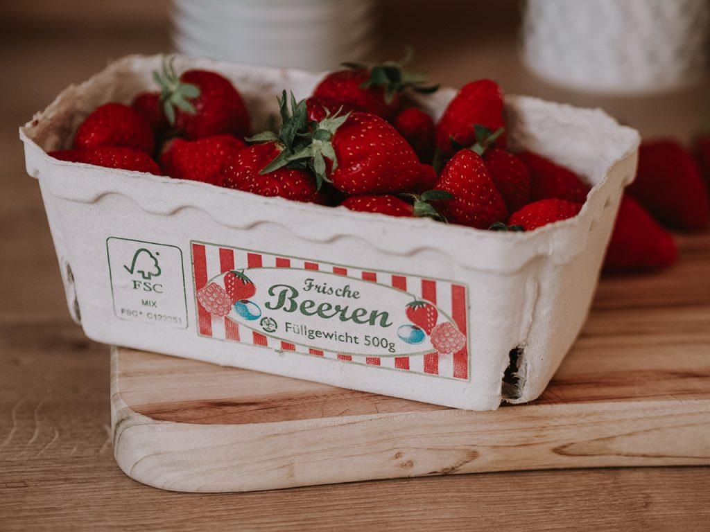 Polka Dot Strawberry Milkshake