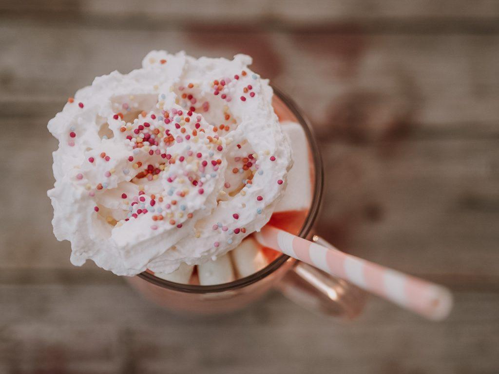 Polka dot milkshake
