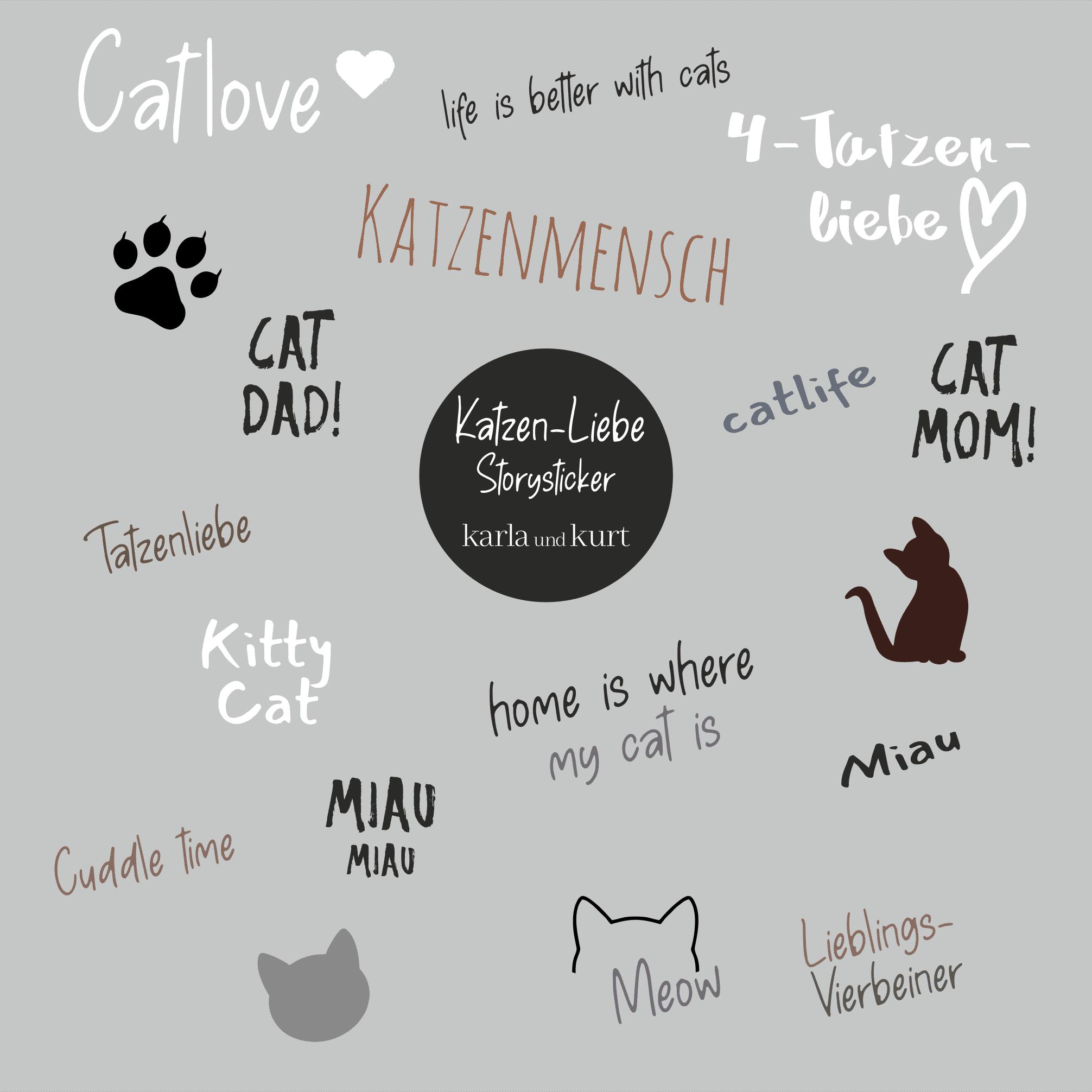 Storysticker Katzenliebe