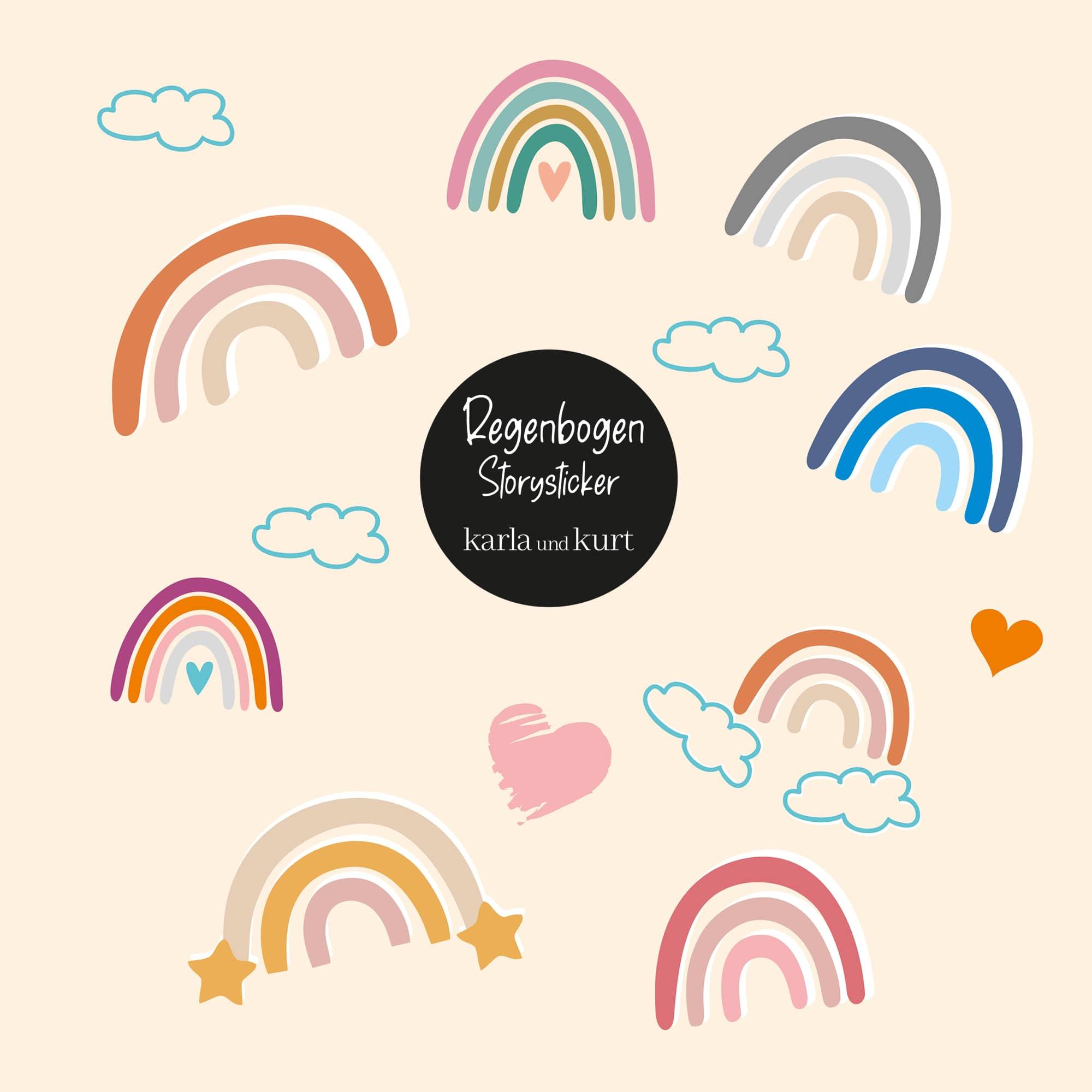 Storysticker Regenbogen