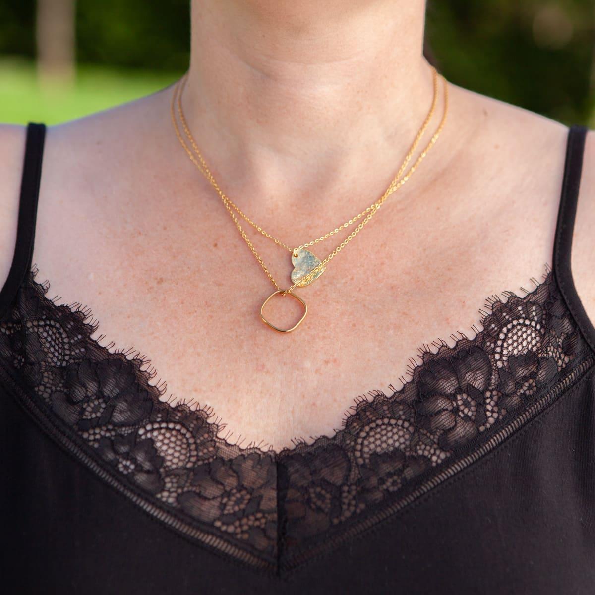 Halskette Zirkonia
