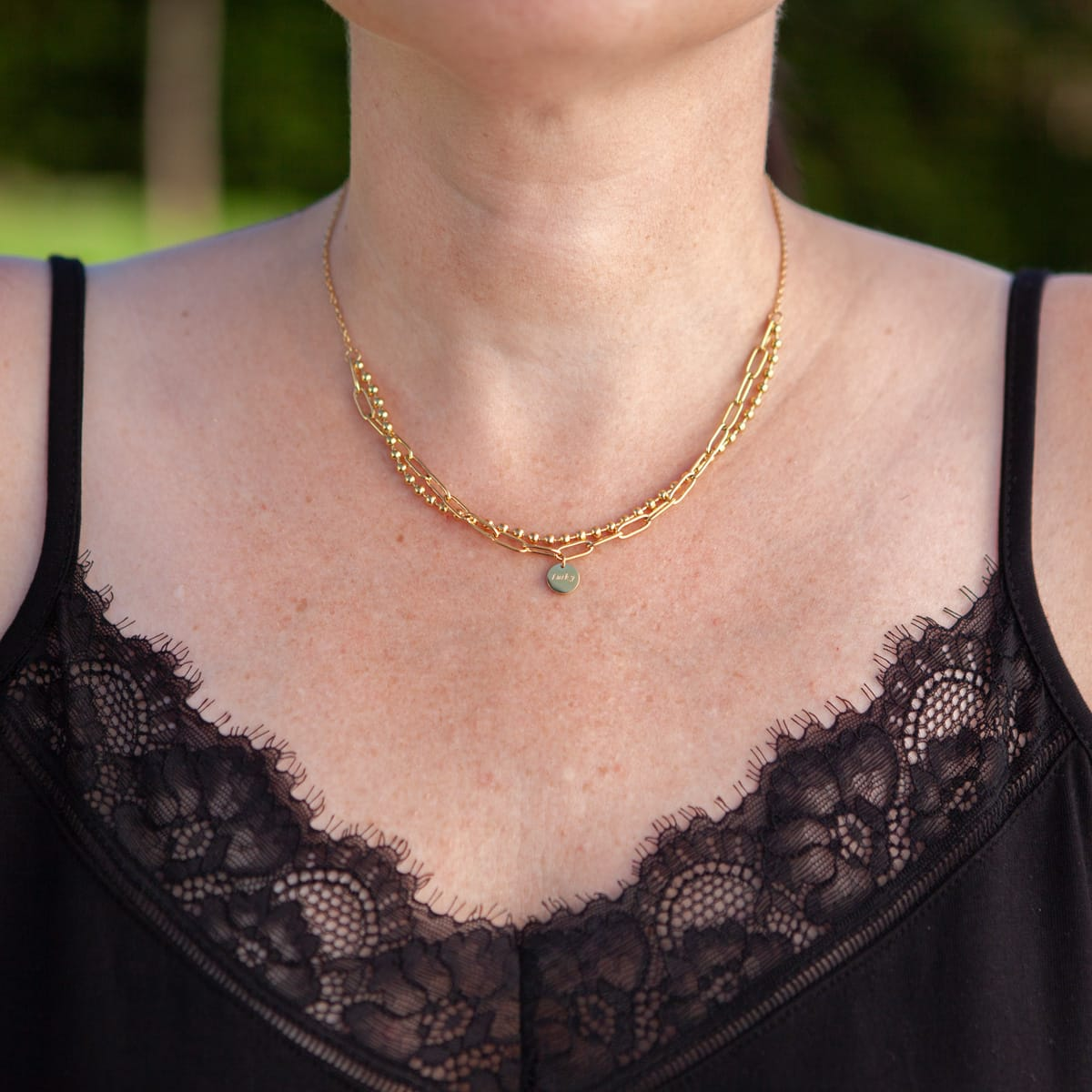 Halskette Lucky